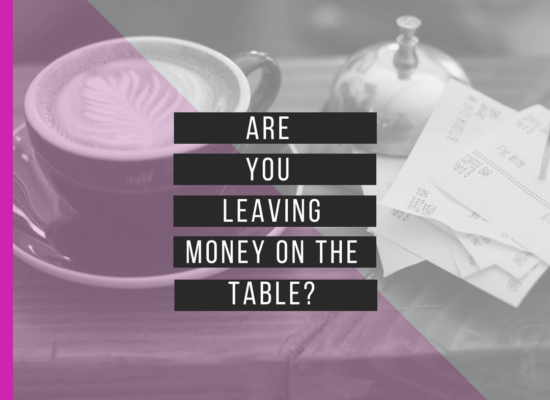 coffee cup and money on table