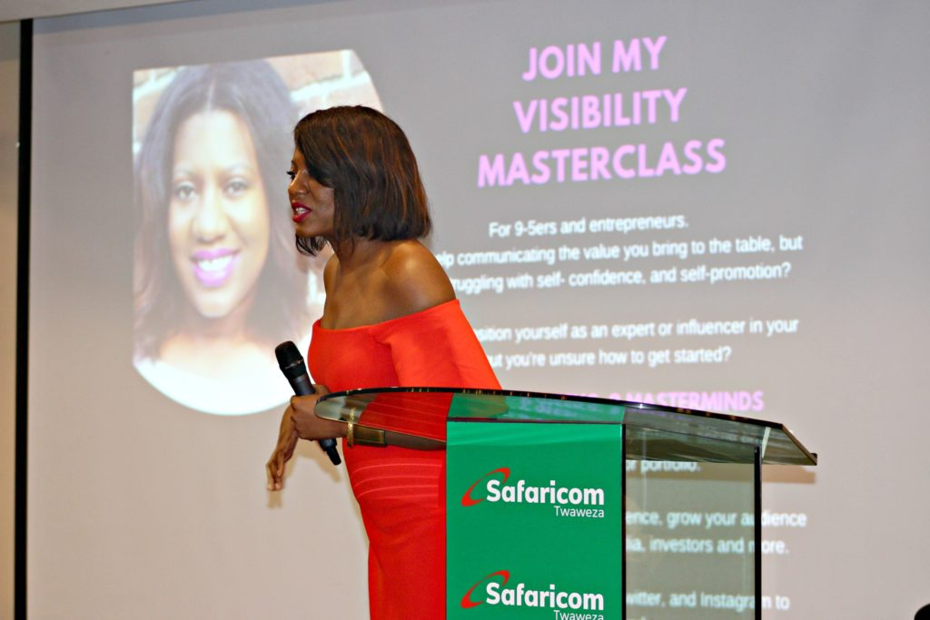Kandia Johnson speaks at The African Women in Technology Conference